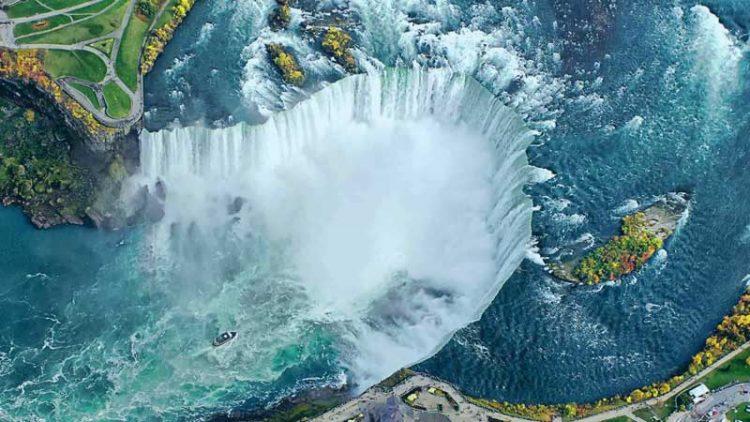 Niagara falls น้ำตกชื่อดังระดับโลก
